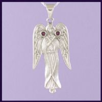 Angel with Purple Crystal